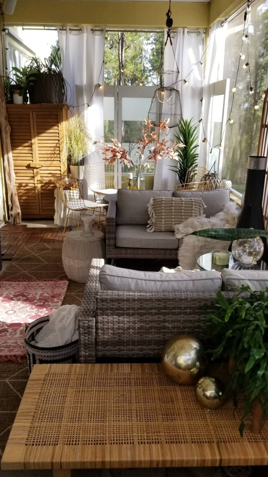 Fall Harvest Porch Decor With Bed Bath Amp Beyond Bees N