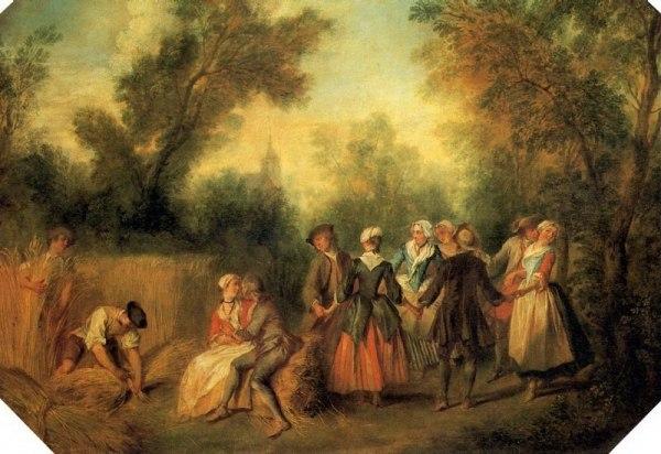 НИКОЛА ЛАНКРЕ. Лето, 1738. ~ картины Лувра (Париж ...