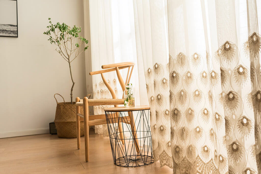 choose curtains for home to be