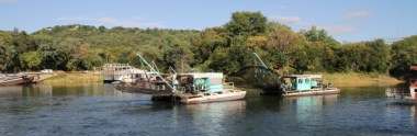 Kapenta Fishing Rig in Kariba