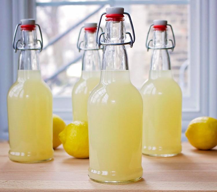 Lacto Fermented Lemonade Beets Amp Bones