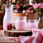 homemade strawberry kefir