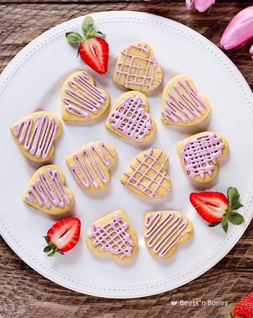 einkorn vanilla cookies