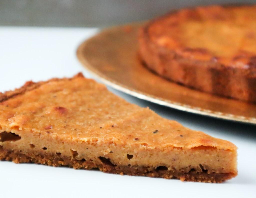 Butternut squash pumpkin spice pie