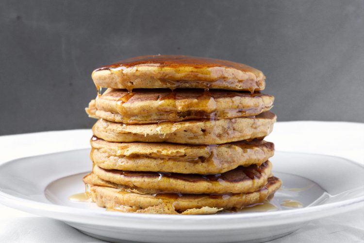 easy roasted butternut squash pancakes