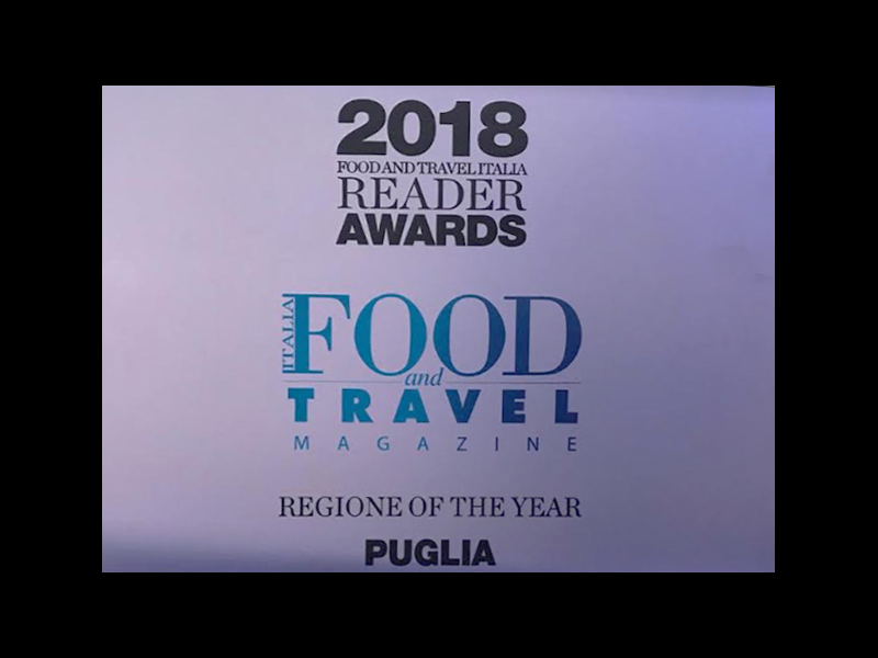 """""""Region of the Year"""" – An important recognition for our beautiful Puglia"""