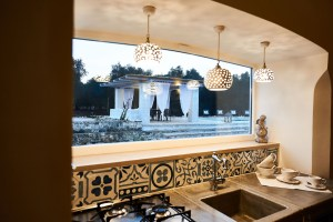 kitchen luxury villa Italy