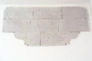Ancient Plaque Palazzo San Giovanni BeeYond Travel