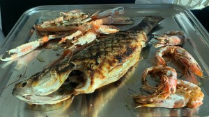 Fresh Grilled Fish Puglia