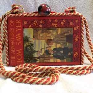 The Adventures of Tom Sawyer Vintage Book Shoulder Purse