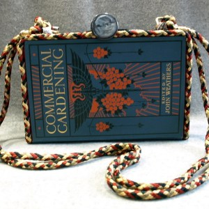 Commercial Gardening Vol.1 Vintage Book Tablet Purse