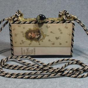 Through the Year with Dickens Vintage Book Phone Purse