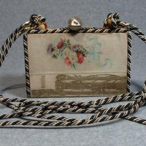 Hiawatha Vintage Book Phone Purse