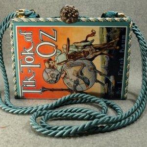 Tik-Tok of Oz Vintage Book Shoulder Purse