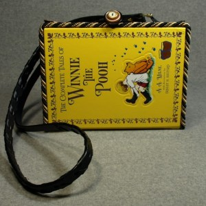 The Complete Tales of Winnie the Pooh Vintage Book Tablet Purse