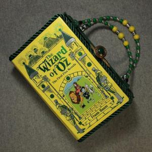 The Wizard of Oz Book Hand Purse