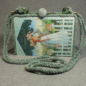 Anne of Green Gables Vintage Book Shoulder Purse
