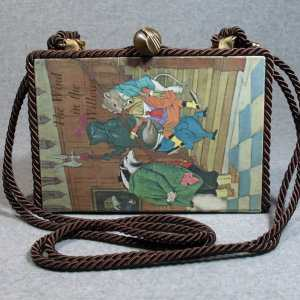 The Wind in The Willows Vintage Book Shoulder Purse