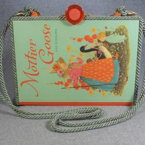 Mother Goose Vintage Book Laptop Purse
