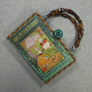 Mrs. Peter Rabbit Vintage Book Hand Purse