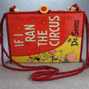 If I Ran the Circus Vintage Book Laptop Purse