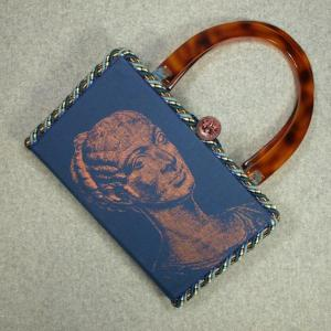 Cleopatra Vintage Book Hand Purse