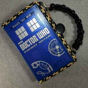 Doctor Who The Silent Stars Go By Hand Purse