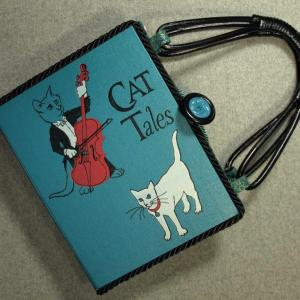 Cat Tales Tablet Book Purse