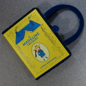 A Madeline Treasury Vintage Book Tablet Purse