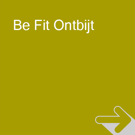 Banners be fit ontbijt