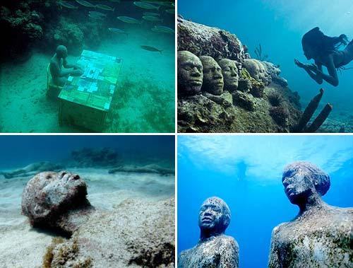 Jason de Caires Taylor's underwater sculpture park