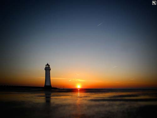 Perch Rock Lighthouse, New Brighton, Wirral