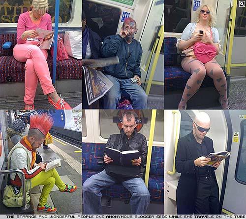 Seen on the London Underground