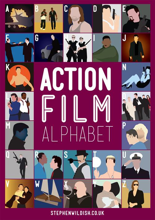 Alphabet of movies
