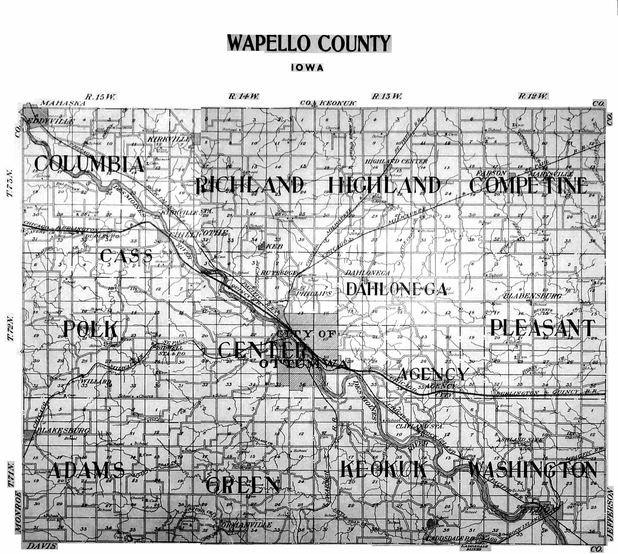 Washington County Ill Map