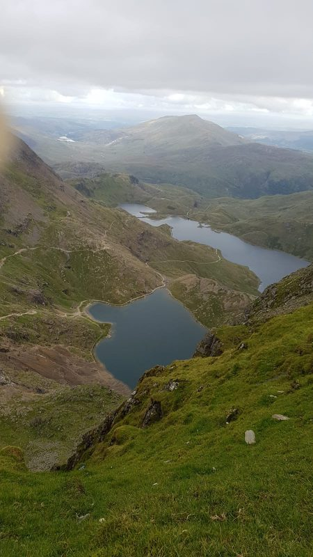 The view from Mount Snowdon