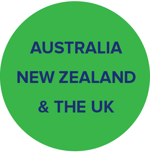 Begin Bright in Australia, New Zealand and the UK