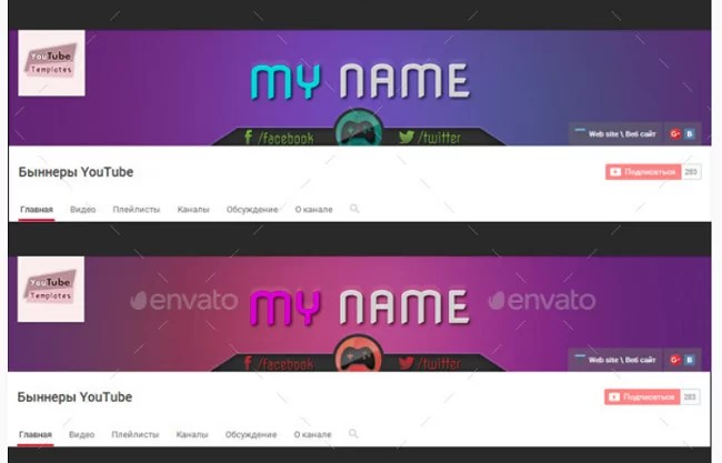 200 Best YouTube Banner Templates 2018 18 the graphic river gaming youtube banner template