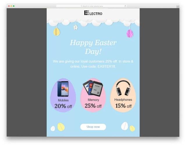 Free MailChimp Template