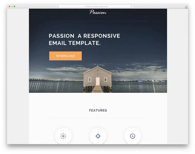 Passion MailChimp Email Template