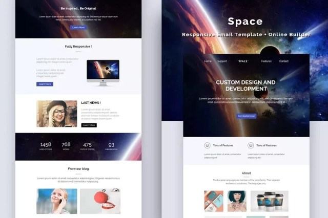Space Email Template