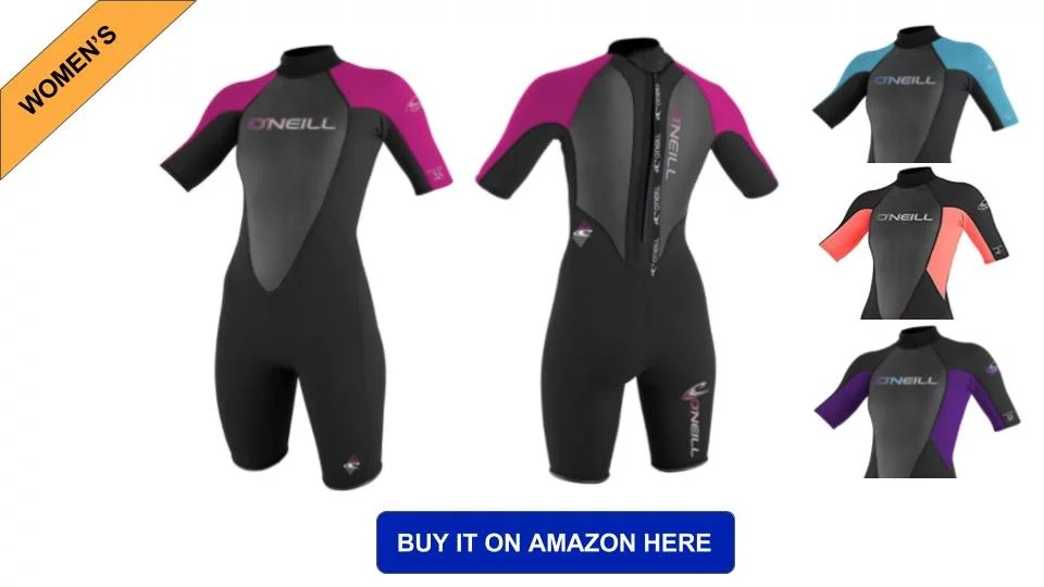 womens shorty wetsuit