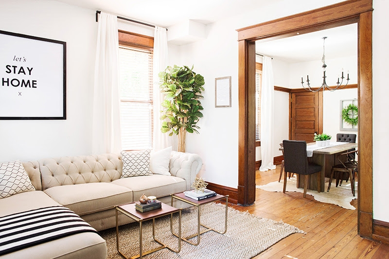 Before & After: Historic Townhome Tour | Beginning in the Middle