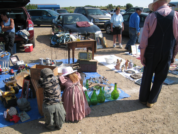 at the Las Vegas NM flea market