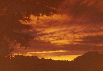 sunsetoverclocktower
