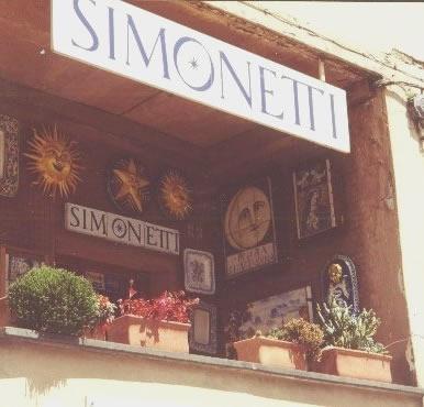 Simonetti ceramics shop, Castelli, Abruzzo, Italy