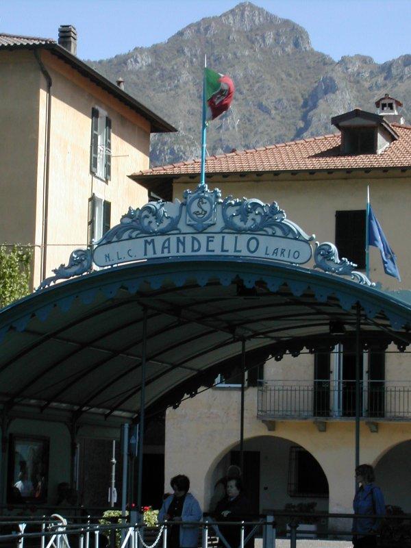Mandello boat dock, Lake Como