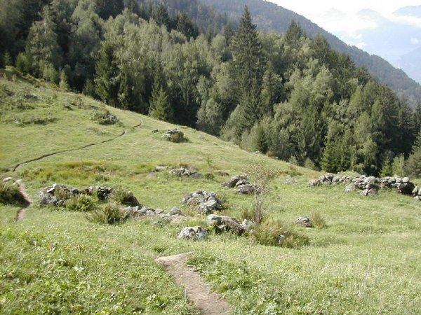 rock piles, Italian Alps