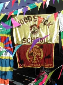 Woodstock School flags