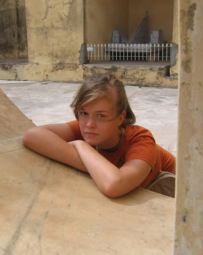 Ross at Jantr Mantr, Jaipur